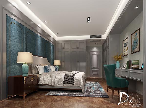 【主卧室】这个空间可以有温润的挂画,可以有简约的线条,一本书一本日记一张唱片一个好梦。