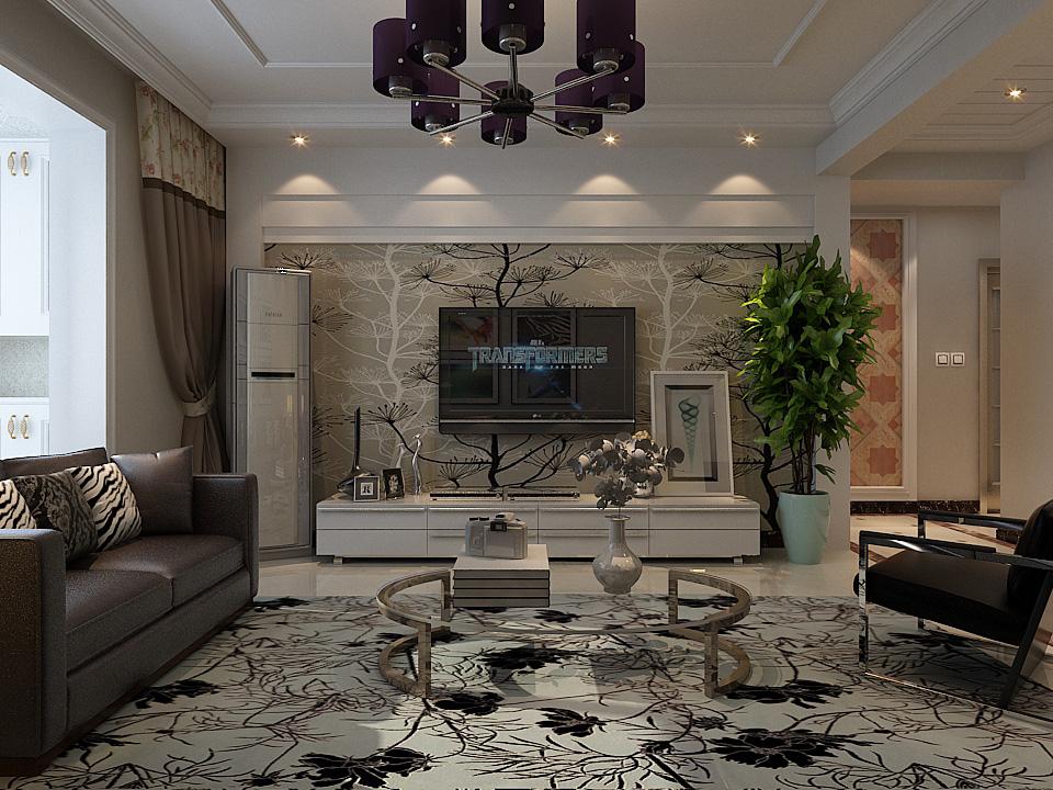 简约 二居 80后 客厅图片来自乐豪斯装饰张洪博在上东区的分享