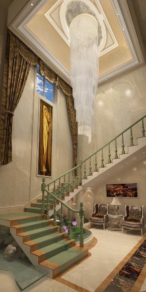 简约 欧式 混搭 别墅 小资 楼梯图片来自林上淮·圣奇凯尚装饰在传世康婷·800㎡独栋的分享