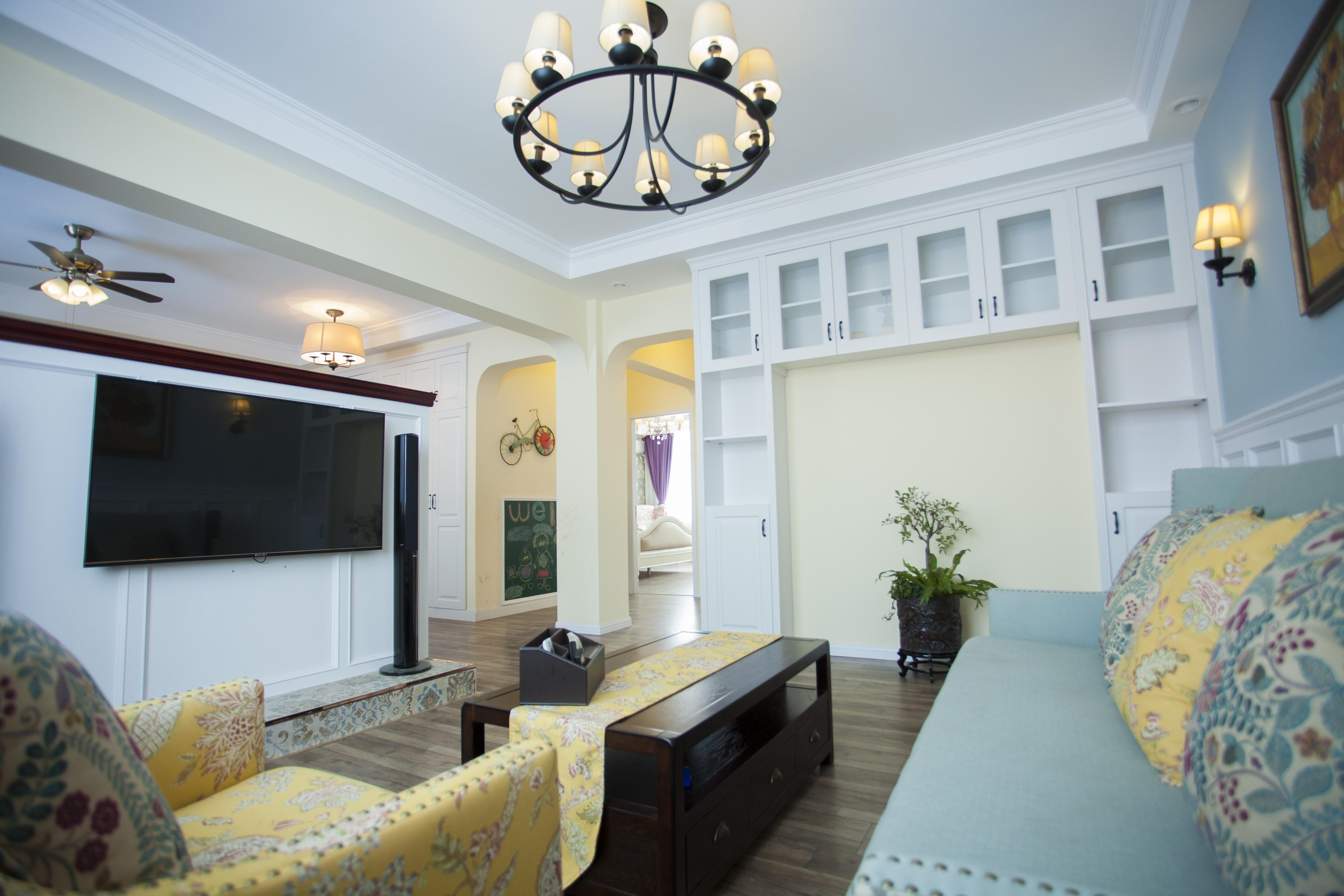 简欧 小清新 客厅图片来自设计师胡狸在三月春风过的分享