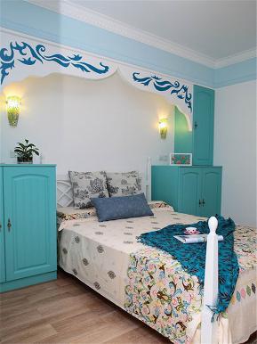 地中海 三居 大户型 公寓 复式 小资 白领 儿童房图片来自高度国际姚吉智在137平米地中海碧海蓝天清凉舒爽的分享