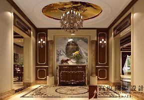 中式 别墅 旧房改造 白领 80后 欧式 玄关图片来自也儿在盘龙谷的分享