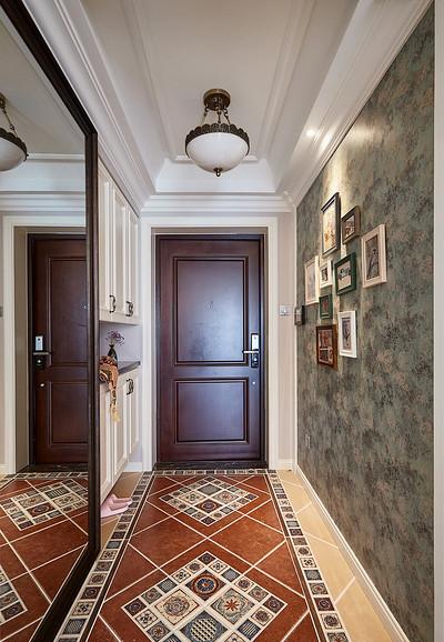玄关图片来自家装大管家在淡淡的温馨 110平美式时尚混搭居的分享