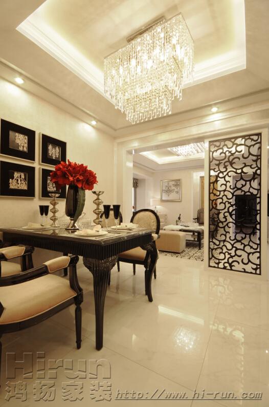 客厅图片来自鸿扬家装武汉分公司在广电兰亭荣荟108-鸿扬家装的分享