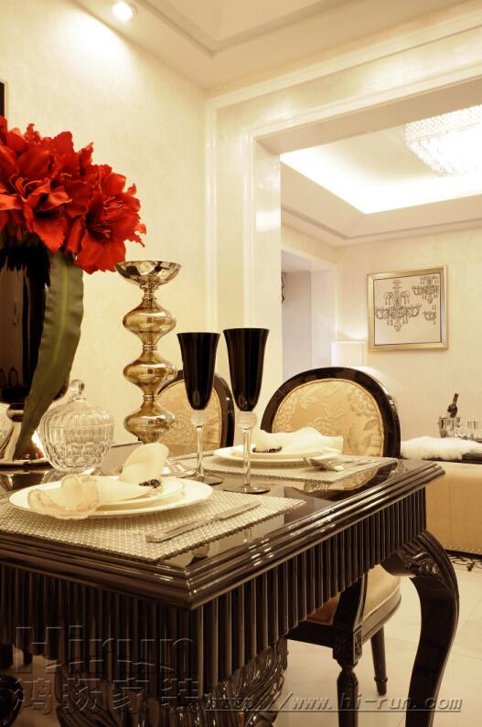 餐厅图片来自鸿扬家装武汉分公司在广电兰亭荣荟108-鸿扬家装的分享