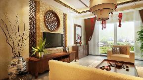 中式 别墅 青岛装修 施工标准 效果图 客厅 卧室 厨房 客厅图片来自阔达装饰小段在青岛阔达世茂三号院中式风格的分享