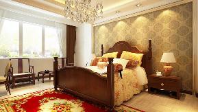 中式 别墅 青岛装修 施工标准 效果图 客厅 卧室 厨房 卧室图片来自阔达装饰小段在青岛阔达世茂三号院中式风格的分享