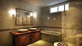 中式 别墅 青岛装修 施工标准 效果图 客厅 卧室 厨房 卫生间图片来自阔达装饰小段在青岛阔达世茂三号院中式风格的分享