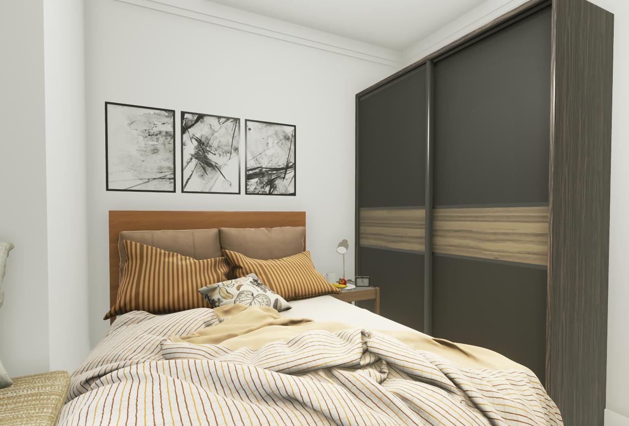 卧室图片来自湖北省大唐安盛建筑工程有限公司在东原晴天见的分享