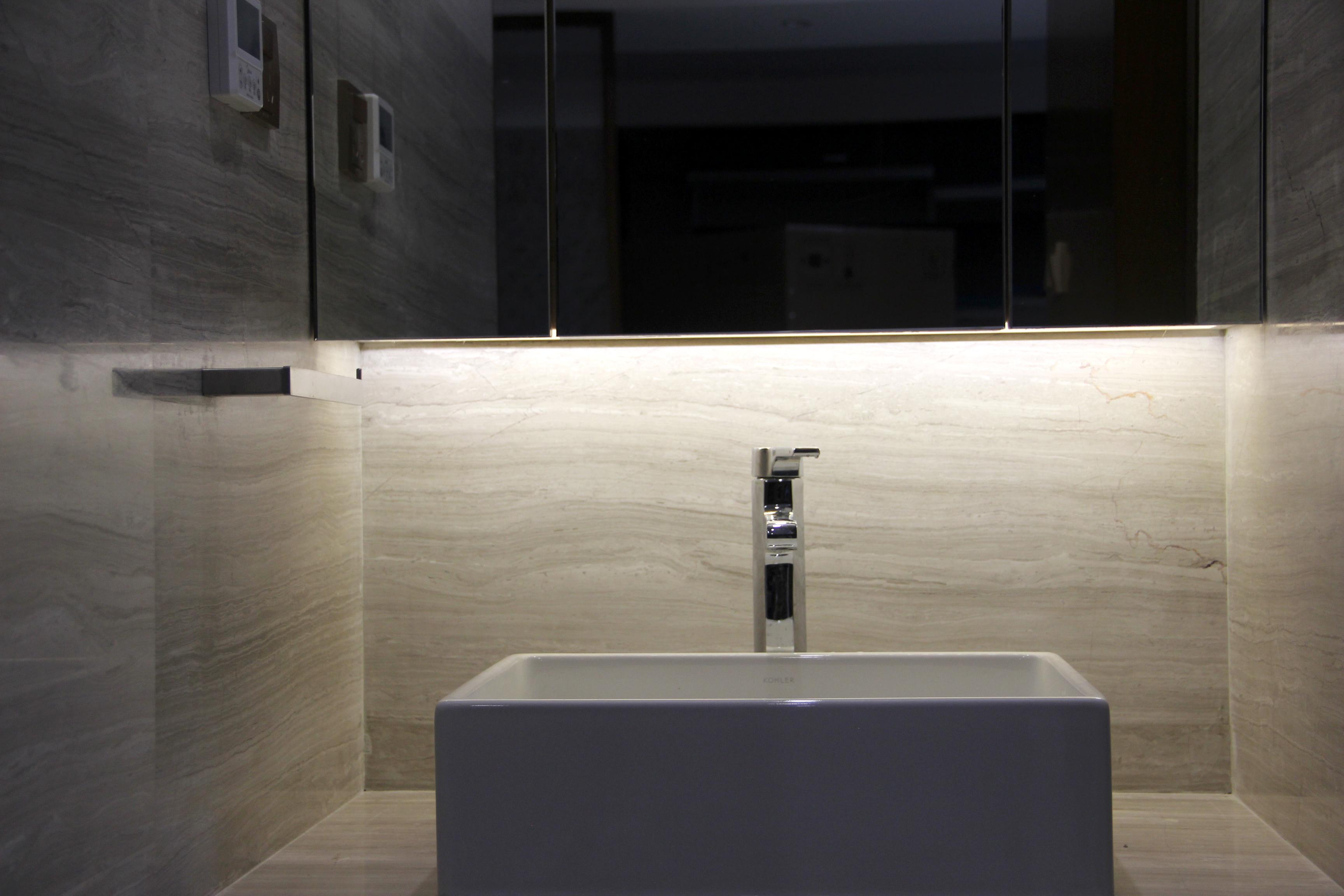 卫生间图片来自新浪家居江西站在大地色系的家的分享