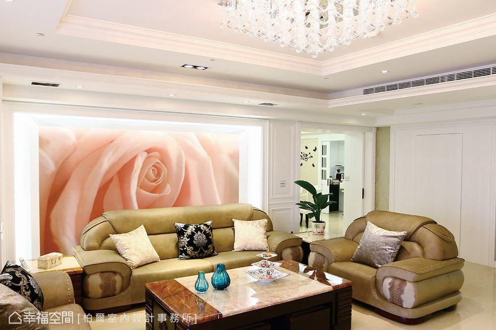 四居 大户型 古典 客厅图片来自幸福空间在古典和现代交融 419平韩式家风的分享