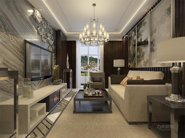 客厅位玄关左侧方向,与餐厅通透,在视觉上显的更加宽敞,同时也有通透的视觉渐变的感觉,这个在后期设计时需要进一步改善。其次,在通风与采光方面然光