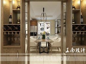 港式 三居 酒柜 玄关图片来自阔达装饰小段在青岛阔达公园美地130平港式风格的分享