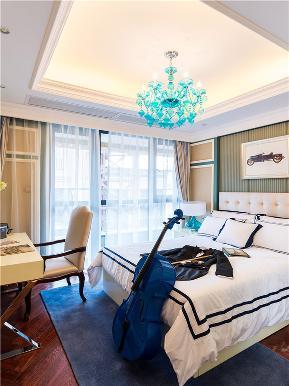 法式 新古典 四居 大户型 复式 跃层 别墅 高帅富 儿童房图片来自高度国际姚吉智在193平米法式豪奢旖旎浪漫情怀的分享