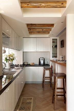 简约 田园 三居 别墅 80后 小资 厨房图片来自小蜗置家装饰在丽都华府110㎡欧美风格的分享