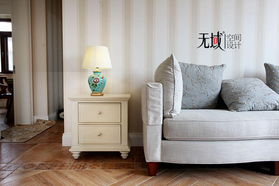 别墅 混搭 收纳 小资 书房图片来自无域空间设计刘艺在一渡新新小镇别墅简美风格设计的分享