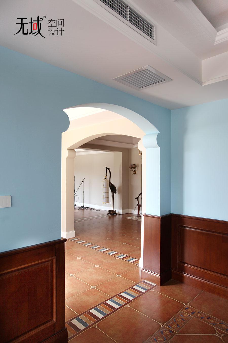 别墅 混搭 收纳 小资 其他图片来自无域空间设计刘艺在一渡新新小镇别墅简美风格设计的分享