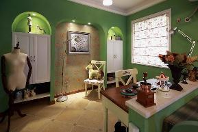 地中海 三居 白领 小资 80后 简约 欧式 田园 混搭 其他图片来自小蜗置家装饰在绿地世纪城107㎡地中海风情的分享
