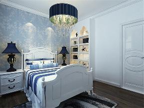 地中海 田园 简约 混搭 三居 80后 卧室图片来自小蜗置家装饰在世茂城123㎡地中海的分享