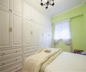 地中海 欧式 田园 三居 80后 收纳 白领 卧室图片来自小蜗置家装饰在圣采泊尚83㎡地中海的分享