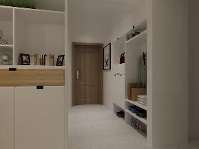 简约 田园 混搭 三居 白领 收纳 小资 现代 玄关图片来自圣奇凯尚室内设计工作室在圣奇凯尚装饰-现代简约三居室的分享