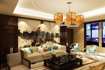 国金华府220平米新中式设计