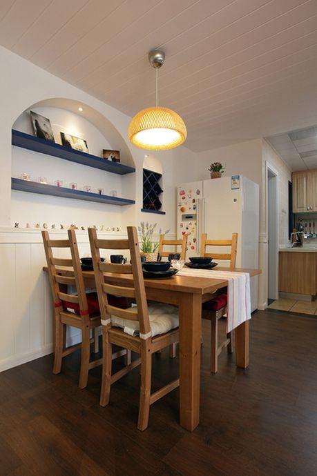 地中海 简约 二居 80后 餐厅图片来自小蜗置家装饰在会所金蘭苑90㎡地中海风格的分享