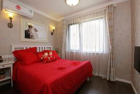地中海 简约 二居 80后 卧室图片来自小蜗置家装饰在会所金蘭苑90㎡地中海风格的分享