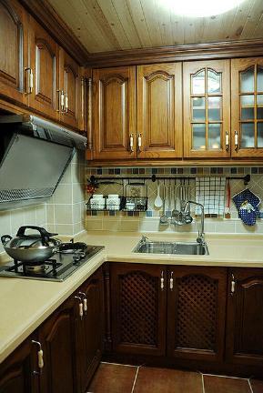 三居 美式 欧式 80后 小蜗置家 厨房图片来自小蜗置家装饰在华侨城草岸104.86㎡美式风格的分享