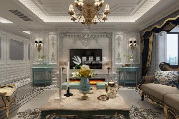紫汀苑166平米三居室法式风格