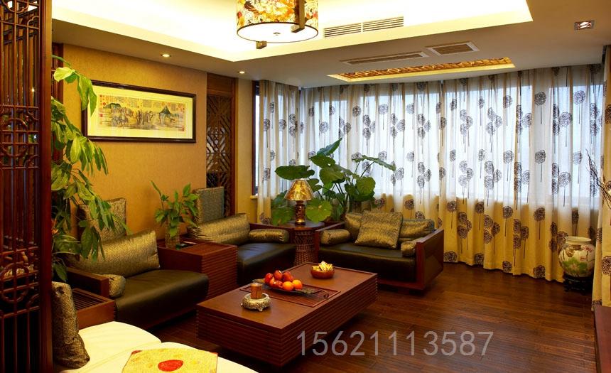 客厅图片来自阔达装饰小段在诚园西区104平东南亚风格的分享