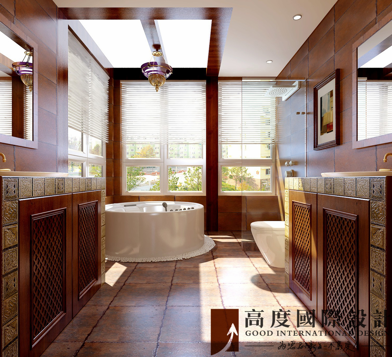 卫生间图片来自也儿在潮白河孔雀城别墅的分享