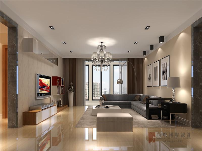 港式 三居 大户型 公寓 复式 小资 客厅图片来自高度国际姚吉智在150平米港式三居走心的轻奢雅致的分享