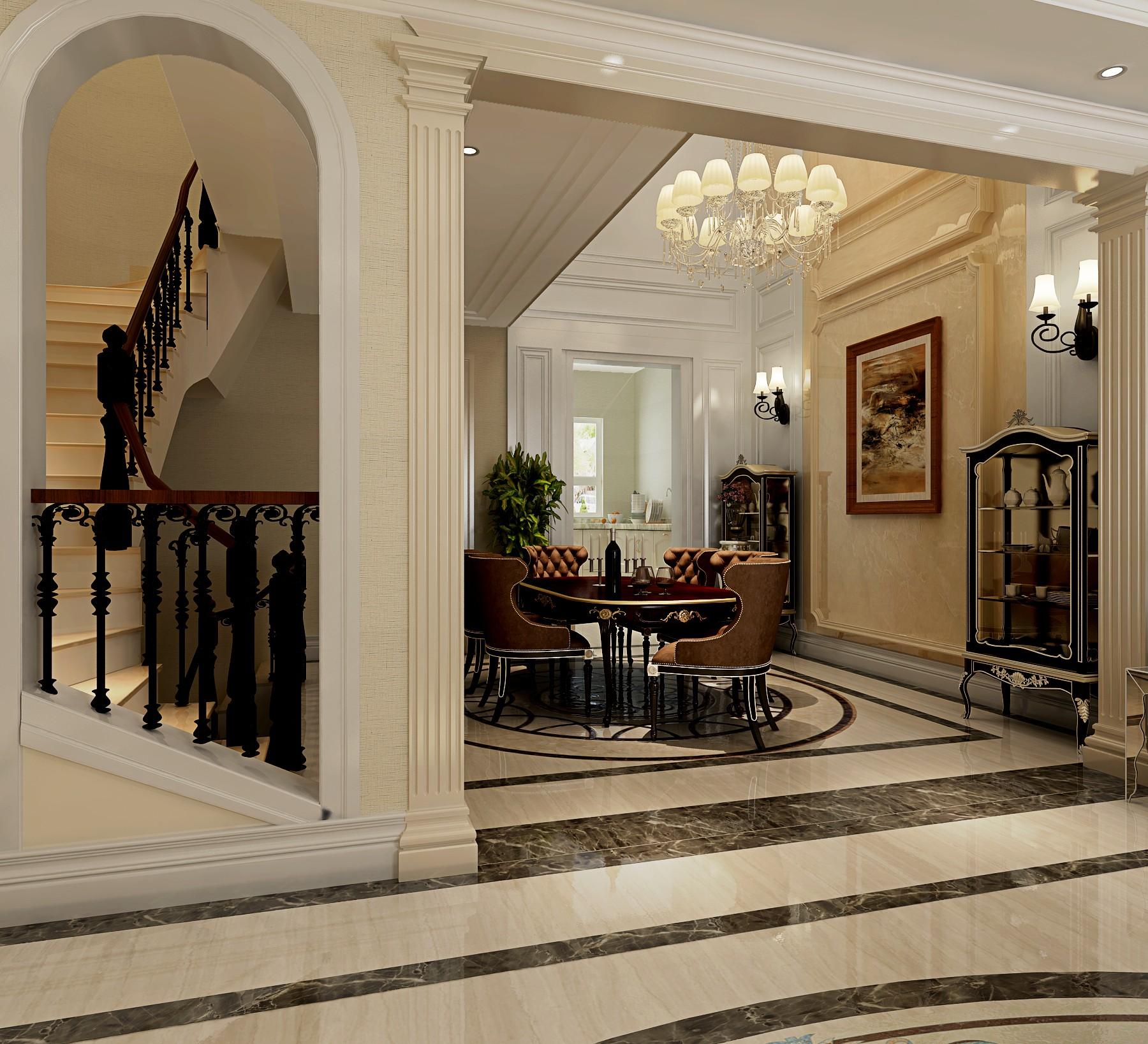 法式 别墅 旧房改造 80后 白领 餐厅图片来自也儿在长桥墅的分享