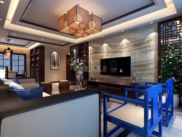 华远锦悦165平米新中式风格