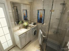 简约 现代 二居 收纳 小资 卫生间图片来自阳光力天装饰在力天装饰-军旅公寓-115㎡-现代的分享