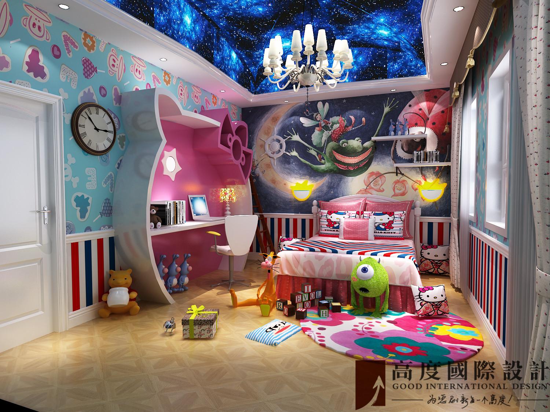 儿童房图片来自也儿在潮白河孔雀城185的分享
