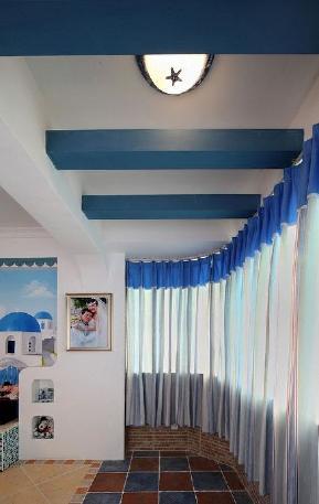 简约 地中海 三居 阳台图片来自小蜗置家装饰在海亮樾金沙88.18㎡地中海风格的分享