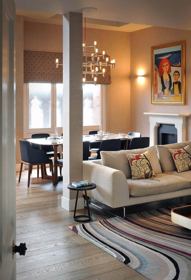 客厅图片来自三好同创装饰公司在阁楼与现代装饰的分享