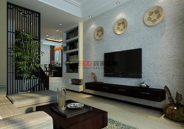 新加坡城200平新中式风格