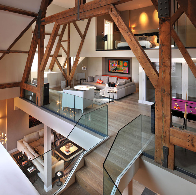卧室图片来自三好同创装饰公司在阁楼与现代装饰的分享