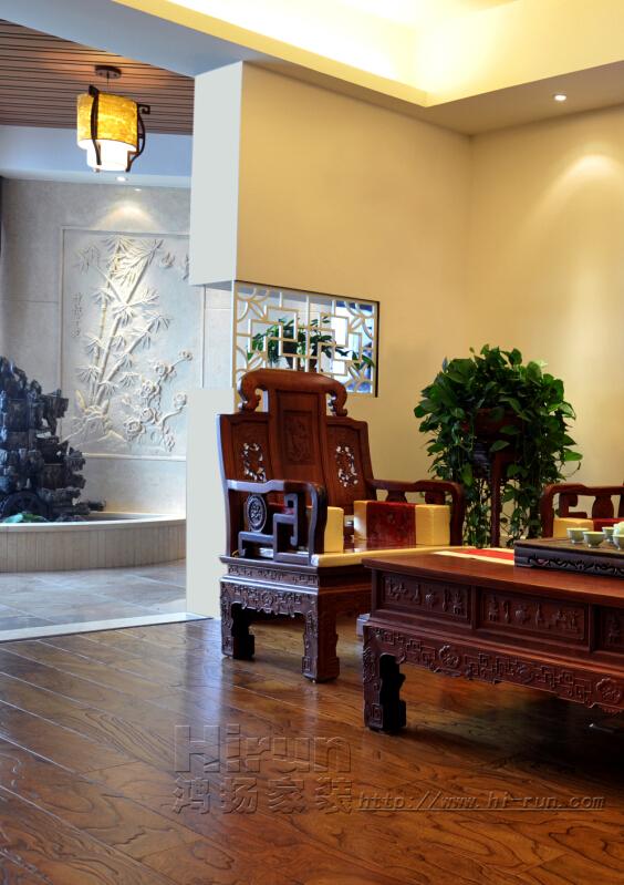 客厅图片来自鸿扬家装武汉分公司在常阳永清城109-鸿扬家装的分享