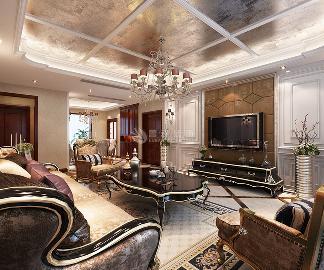 梧桐苑三居室160平米新古典风格