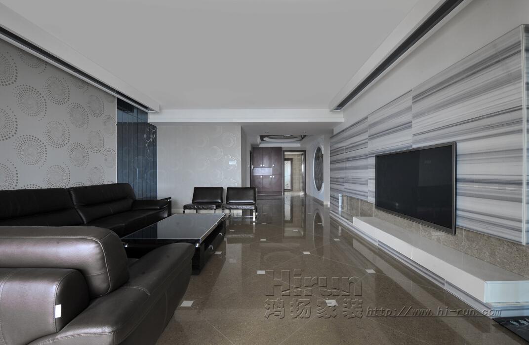 客厅图片来自鸿扬家装武汉分公司在楚天都市金园150-鸿扬家装的分享