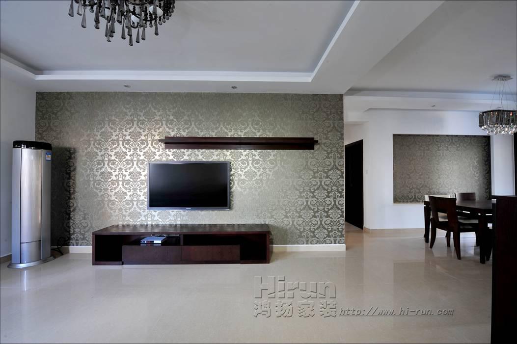 客厅图片来自鸿扬家装武汉分公司在顶琇国际公馆80-鸿扬家装的分享