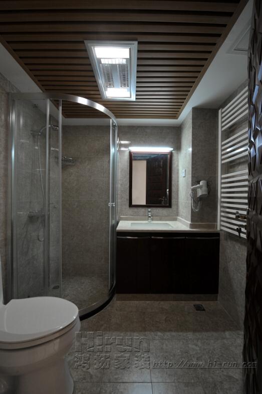 卫生间图片来自鸿扬家装武汉分公司在楚天都市金园150-鸿扬家装的分享