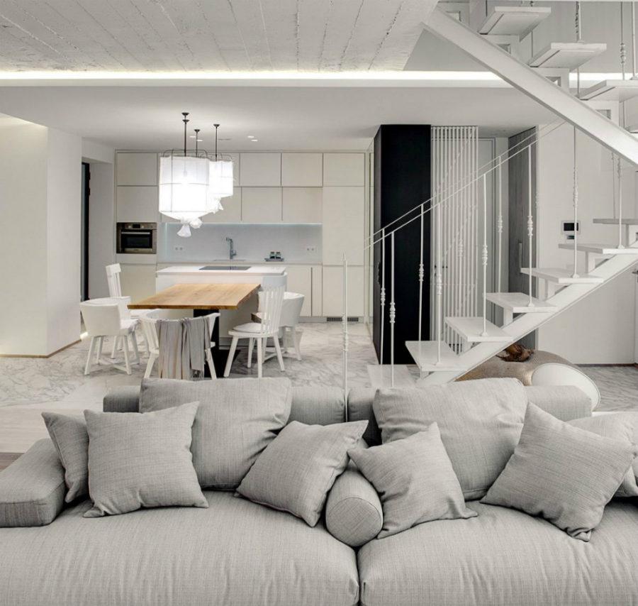 简约 客厅图片来自三好同创装饰公司在单色简约设计的分享