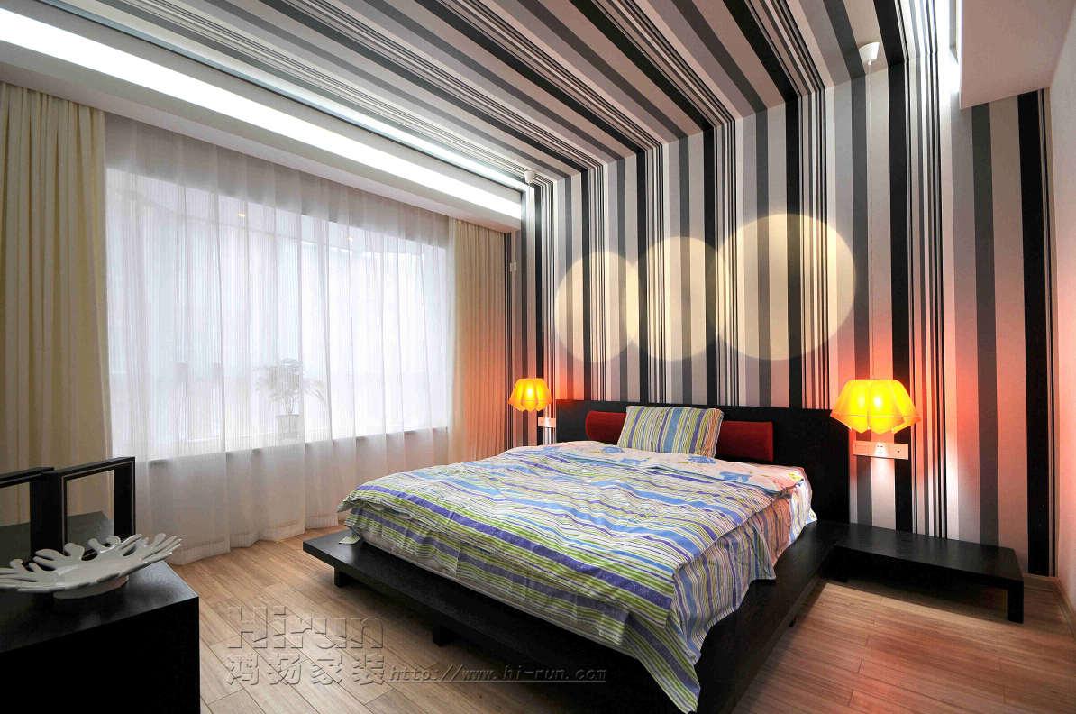 卧室图片来自鸿扬家装武汉分公司在常青花园五小区136-鸿扬家装的分享