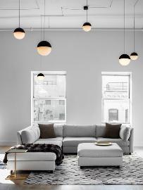灰色风格公寓