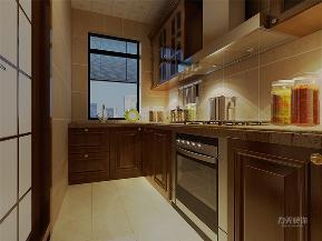 中式 新中式 二居 收纳 小资 厨房图片来自阳光力天装饰在力天装饰-金隅悦城-91㎡-新中式的分享